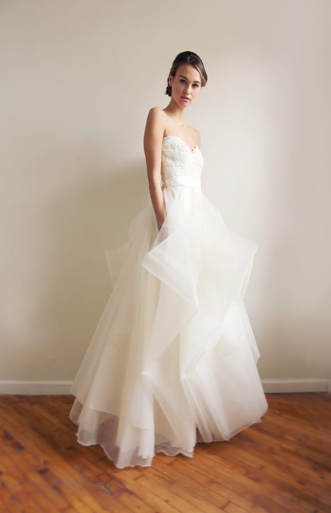 Wedding Dress Ping Nyc Yelp : Leanne marshall bridal new york ny united states the janine gown