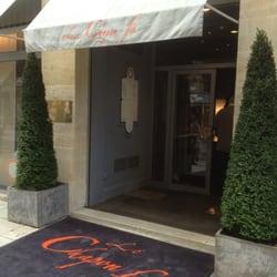 Le Chapon Fin - Bordeaux, France. Entrée de l'un des meilleurs restaurant de la ville