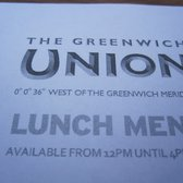 When docking at Greenwich, check out the Greenwich Union pub!