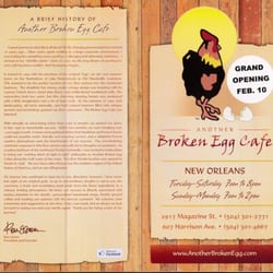 Another Broken Egg Cafe New Orleans Magazine New Orleans La