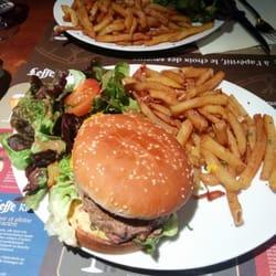 Humm les burgers sont top !