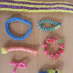 loom bands we are doing for more information contact on Facebook at dragon martial arts training centre or text  07731848531