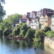 Neckarmauer, Tübingen, Baden-Württemberg