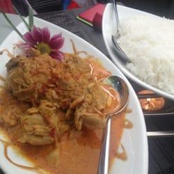 Chicken à la Bali (sorry, forgot the…