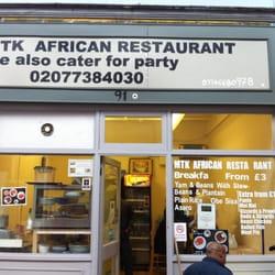 Mtk african restaurant afrikansk coldharbour lane for African cuisine london