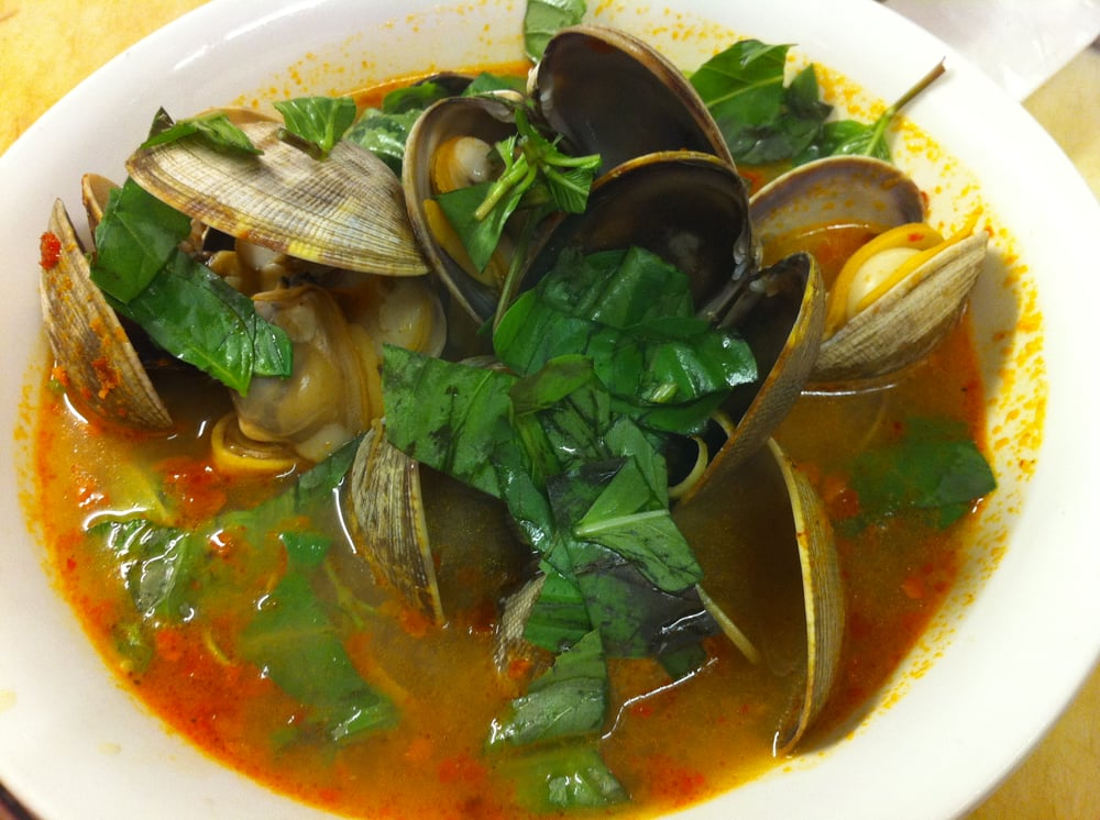 ngheu hap thai lan (steamed clams thai style) | Yelp
