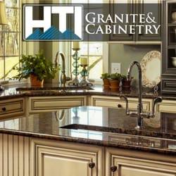 HTI Granite & Cabinetry logo