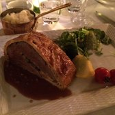 Restaurant La Villa - Marseille, France. Filet de bœuf Wellington