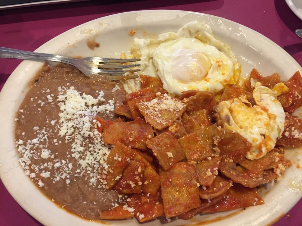 Gallery And Black Bean Chilaquiles Chilaquiles With ...
