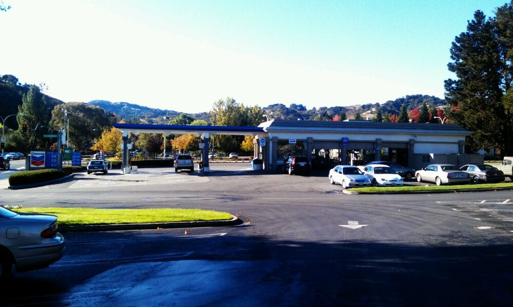 Rossmoor chevron petrol service stations walnut for Nearest motor vehicle inspection station