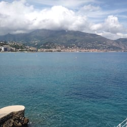 restaurant l'hippocampe, Roquebrune Cap Martin, Alpes-Maritimes