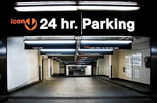 Icon parking systems parking chinatown new york ny for Parking garage in nyc