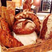 Bread cart: sourdough, smelt, whole…