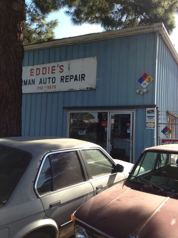 Eddie s german auto repair bilmekaniker verkst der for Fremont motors service department