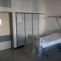 Krankenbett im Hno-Bereich der Uniklink…