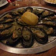 Escargot mussels