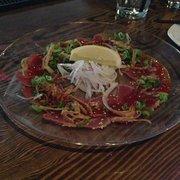 Hapa Izakaya - Toronto, ON, Canada. Beef tataki. So delicious!