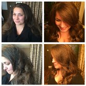 Color Queen Salon - Honolulu, HI, United States. Before & After
