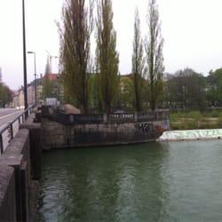 Corneliusbrücke, München, Bayern