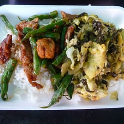 Wat thai temple 3 combo with chicken and long beans for Amazing thai cuisine north hollywood