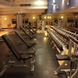 Massive free weight room