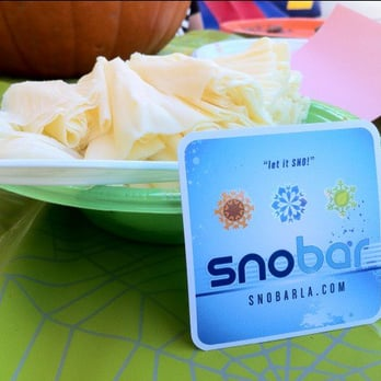 Snobar - West Hollywood, CA, États-Unis. SNObar catering my halloween themed baby shower!