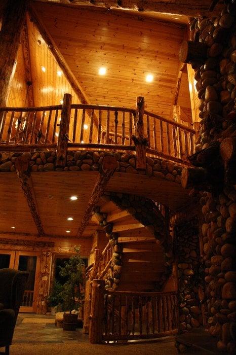 big bear cool cabins dreamcastle spiral staircase yelp. Black Bedroom Furniture Sets. Home Design Ideas