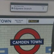 Camden Town Underground Station, London