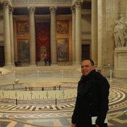 Le Panthéon - Paris, France. In front of Foucault's pendulum