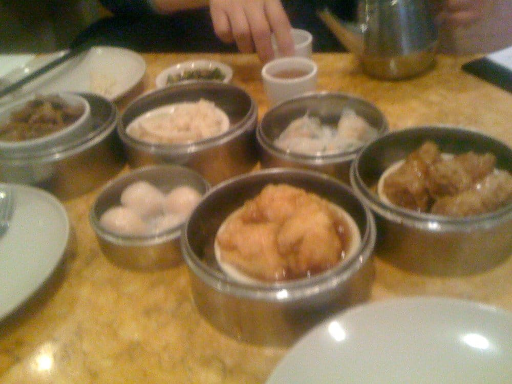 ... shrimp dumplings, and soft tripe, and tofu skin wrapped meat | Yelp