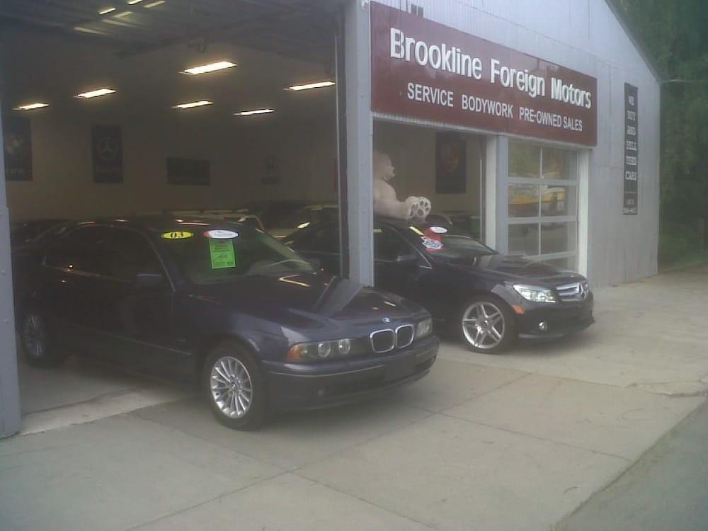 Brookline Foreign Motors Auto Repair 636 Brookline Ave