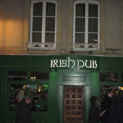 Irish-Pub - Metz, France. Entrance