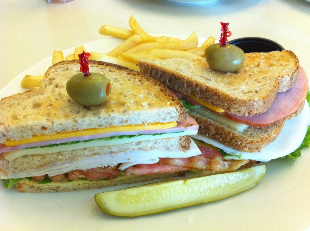 ... , turkey and bacon; Swiss, Havarti and cheddar on whole wheat, | Yelp