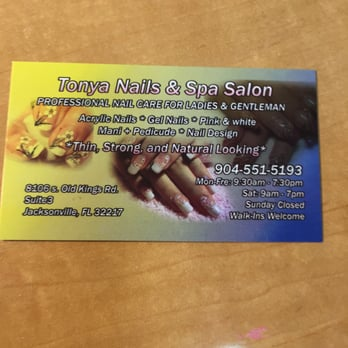 Tonya nails spa salon day spas southside for 24 hour nail salon queens ny