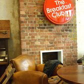 a comfy chair at the breakfast club