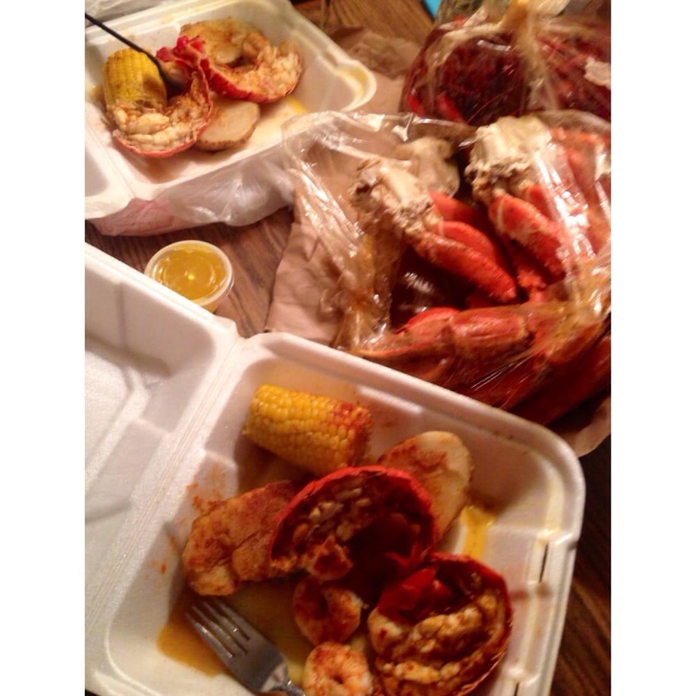 New Orleans Seafood - Our meal of choice to bring in the new year. Lobster tails, shrimp, crab ...