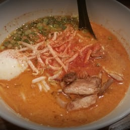 Spicy chicken Ramen - pretty damn good, but not really the best $14 Ramen I've had