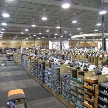 DSW Designer Shoe Warehouse - A bit like a warehouse. It's best if you