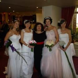 Viv with our models, Bridal Catwalk at…