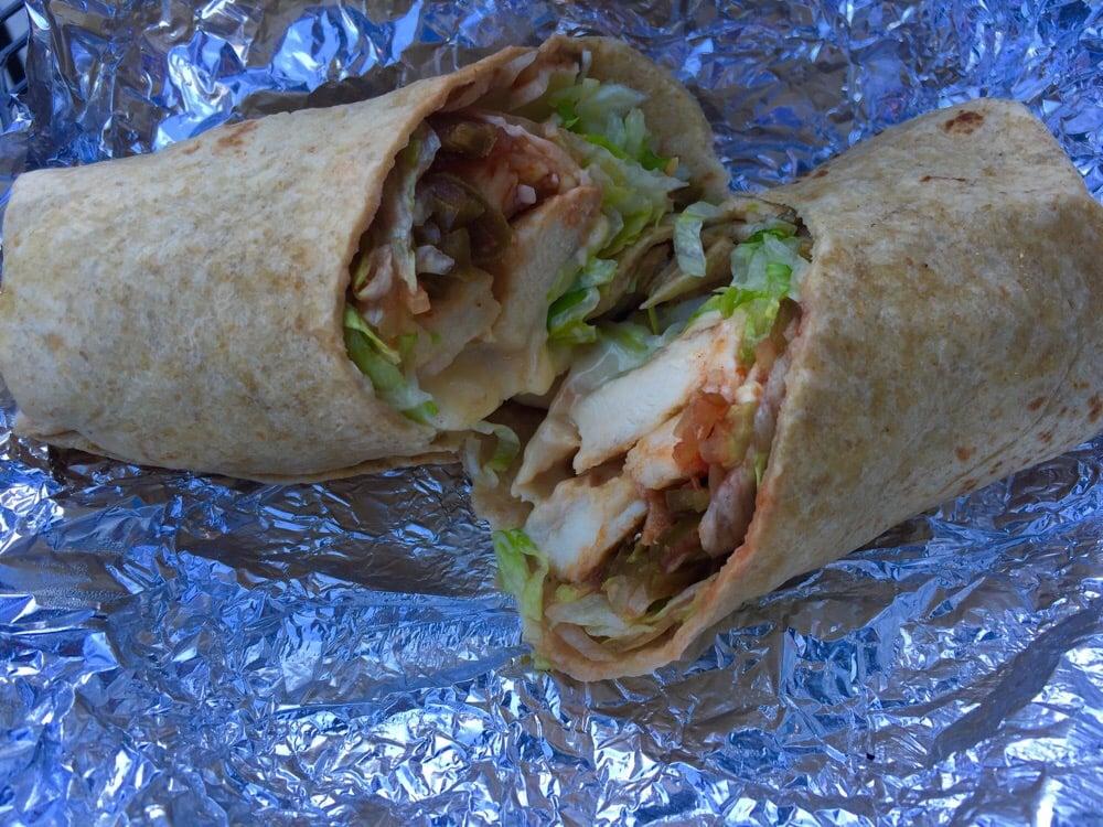 Baja Chicken Wrap Baja Chicken Wrap
