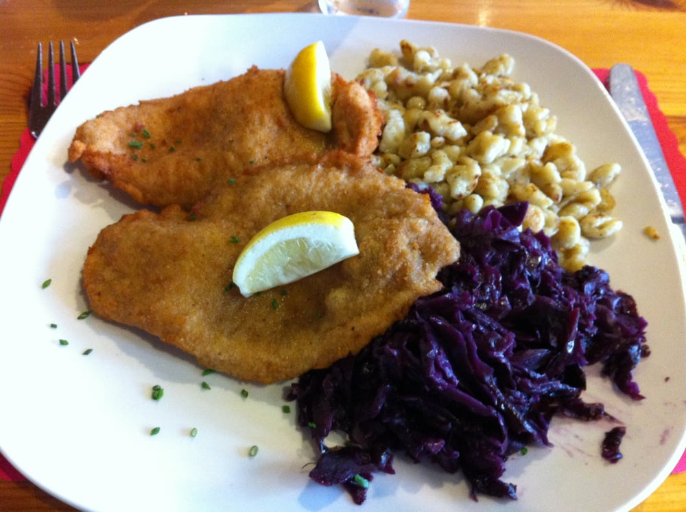 Red Chicken Recipe Chicken Schnitzel With Red