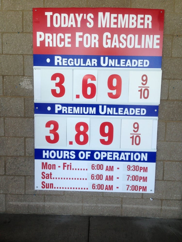 how to pay for gas at costco