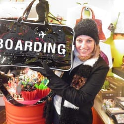 PIQ - My friend bought a flight bag on sale! Cute! - New York, NY, Vereinigte Staaten
