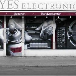 Yes Electronic - Außenwerbung
