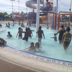 Barbara Morse Wackford Community Aquatic Complex Slides Water Park Area Elk Grove Ca