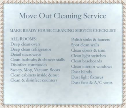 move out cleaning checklist yelp