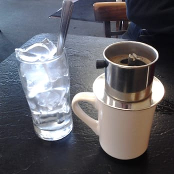 Vietnamese Iced Coffee with a French Press - Los Angeles