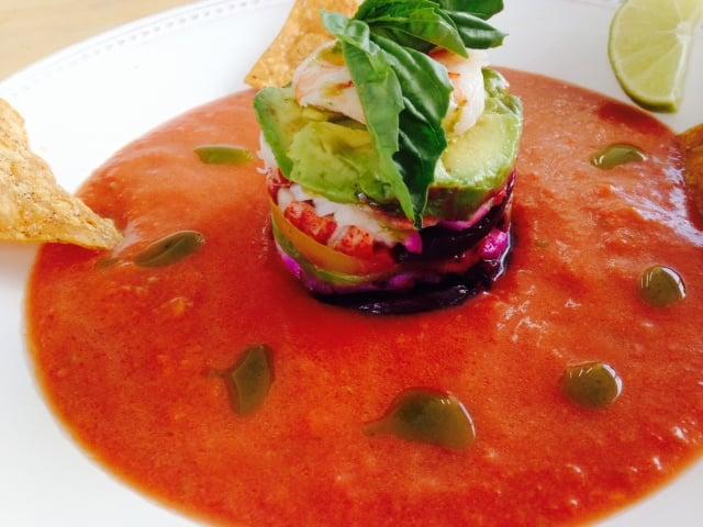 Debby - Thousand Oaks, CA, United States. Heirloom Tomato Gazpacho ...
