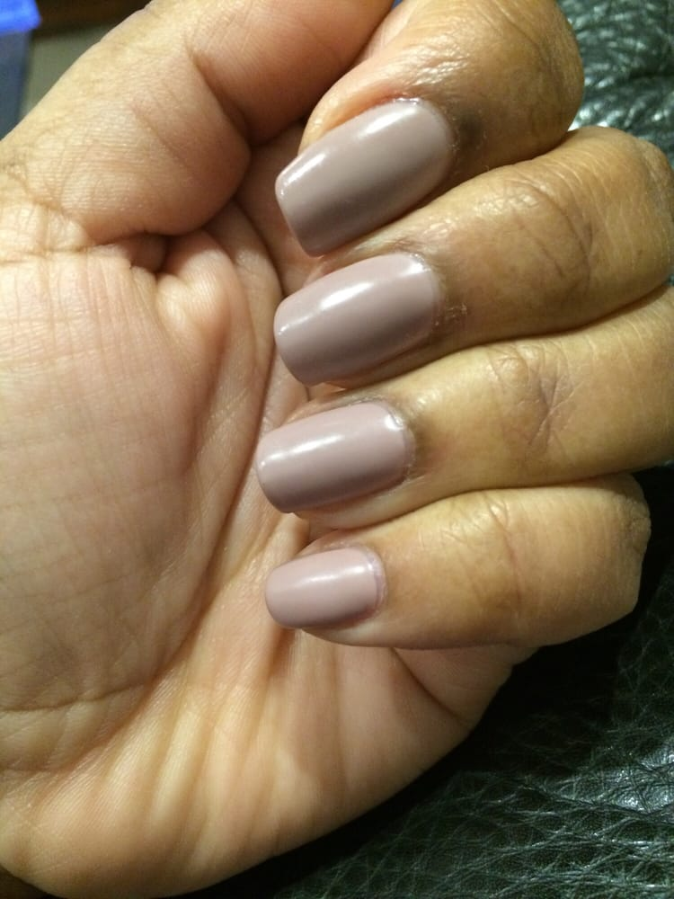 Matte gel mani by ashley sp yelp for A perfect ten salon