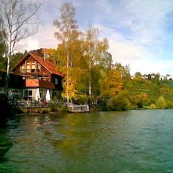 Keefertal vom Neckar mit Bootsanlegesteg